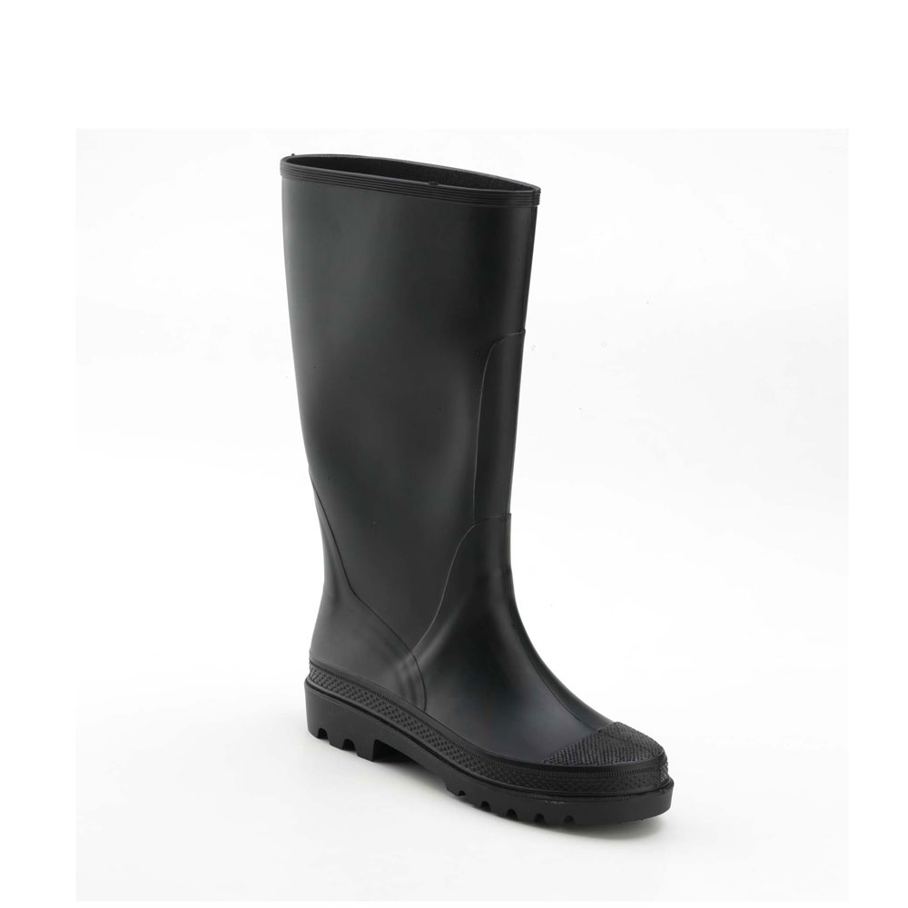 Rainboot of the Sports line made of pvc with matt finish