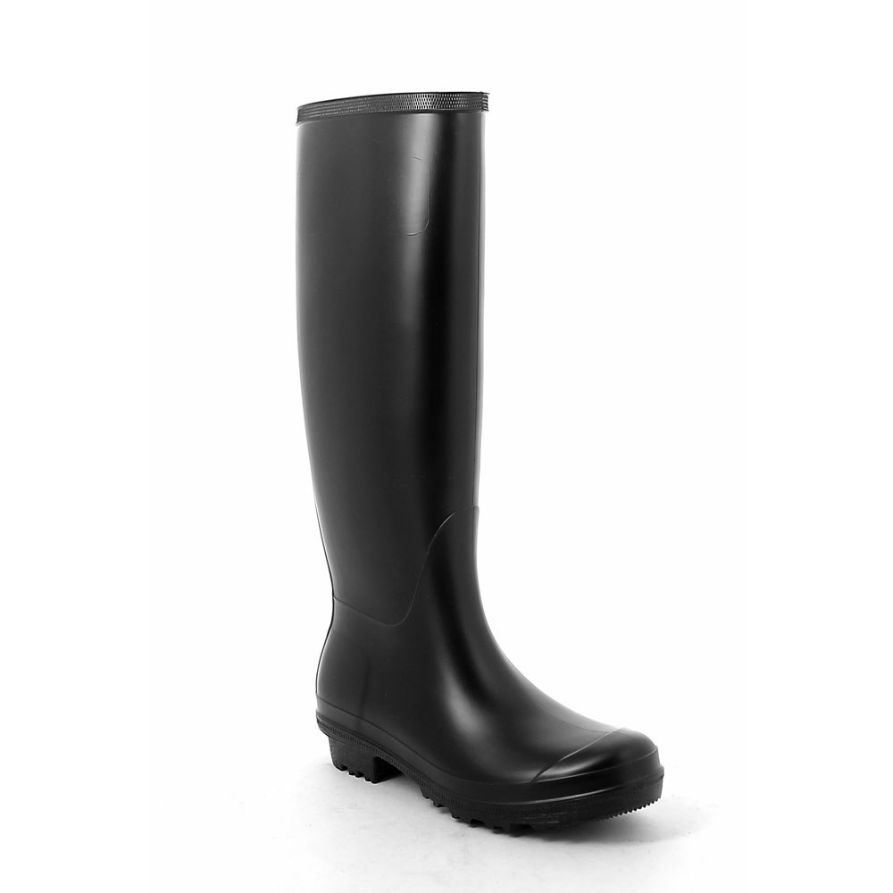 Wellington boot in matt  pvc without buckle on vamp upper side  and classic outsole