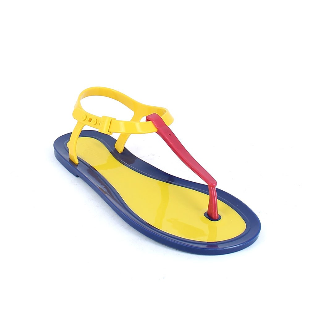 Flip flop pvc sandal with plastic fastening