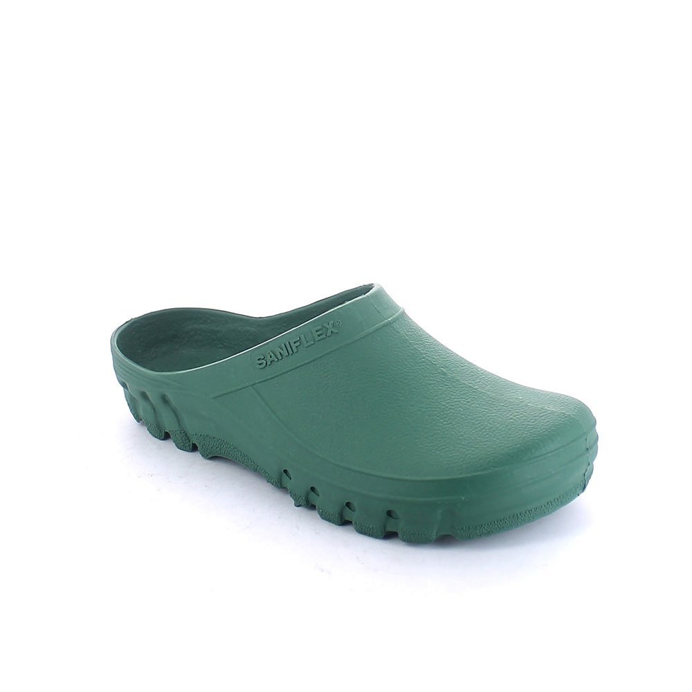 Solid colour pvc Garden clog without insole