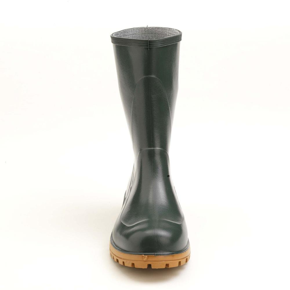 Pvc low boot with lug outsole