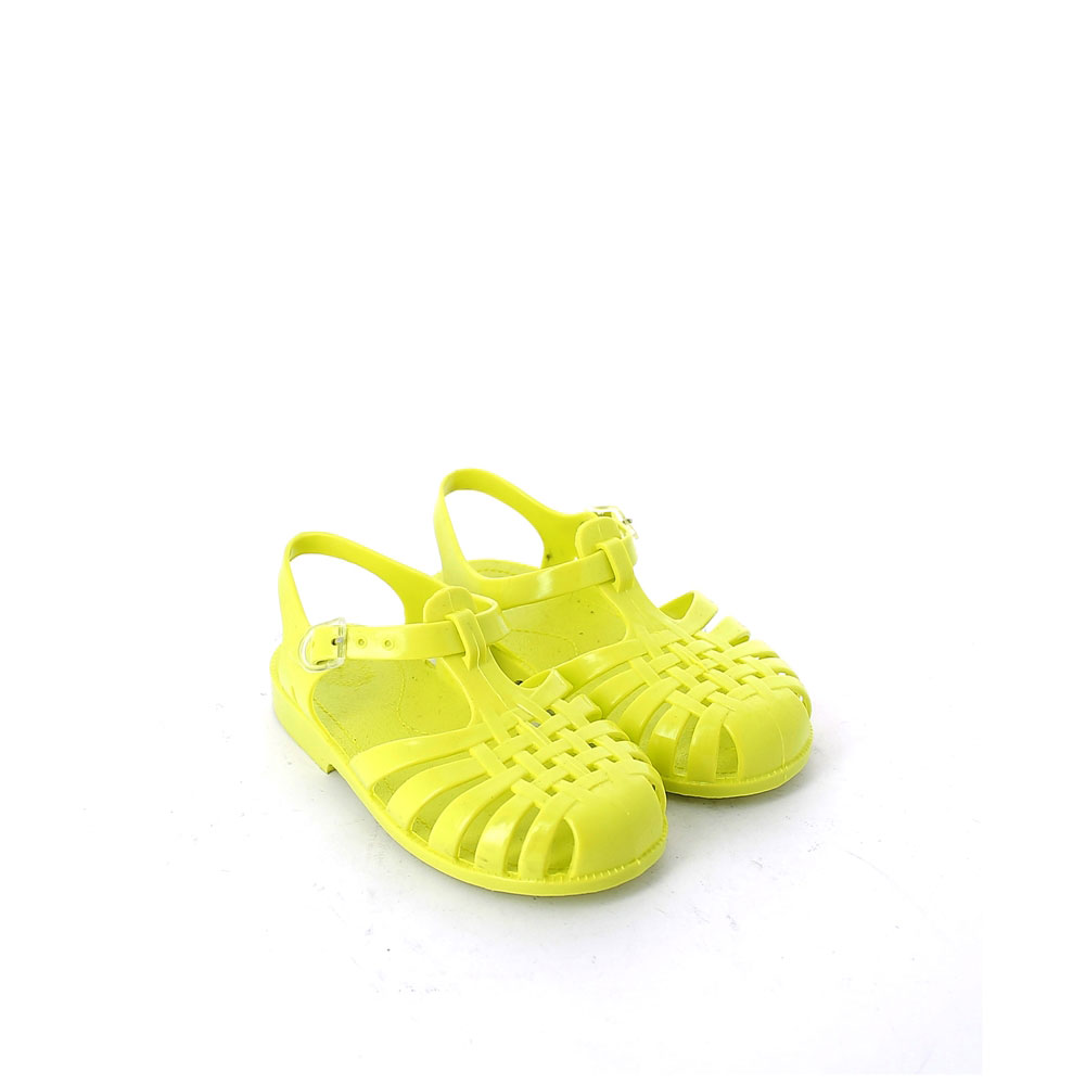 Solid colour pvc jelly sandal with bright effect 86 basico pvc coprente col