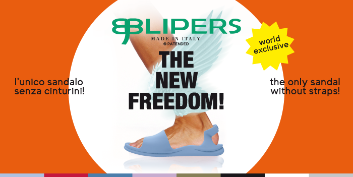 Maresca presents Blipers, the unique sandal without straps