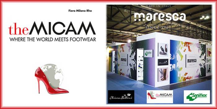Maresca will be exhibiting at The Micam February 2018