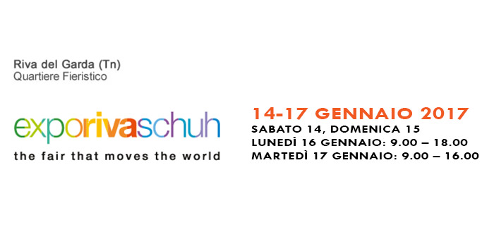 Maresca is taking part in Expo Riva Schuh 2017