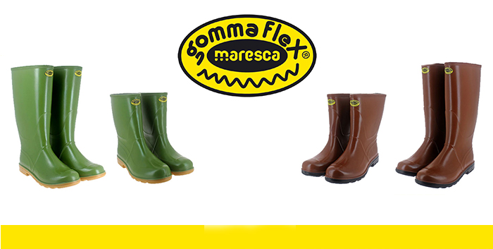 The new GommaFlex working boots are now Online